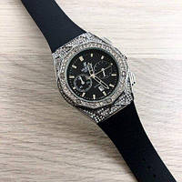 Часы наручные Hublot Big Bang Diamonds 882888A Silver-Black