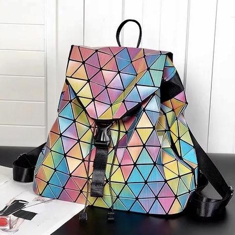 Рюкзак женский Бао Бао мозаика, Bao Bao Issey Miyake геометрический