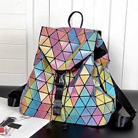 Рюкзак женский Бао Бао мозаика, Bao Bao Issey Miyake геометрический, фото 1