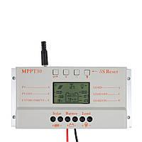 Контроллер MPPT 30 для заряда от солнечных батарей, фото 1