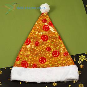 Новогодняя шапка Деда Мороза H-2
