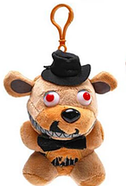 М'яка плюшева іграшка 5 ночей з Кошмарний Фредді Аніматроніки. Фнаф 15см