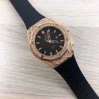 Часы наручные Hublot Big Bang Diamonds 882888 Gold-Black