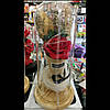 Сувенирная Роза в колбе с подсветкой,27см
