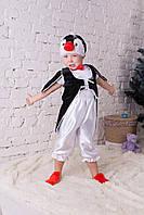 Детский костюм Пингвин 3,4,5,6,7 лет. Новогодний карнавальный костюм для детей