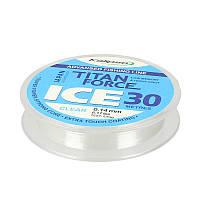 Волосінь Kalipso Titan Force Ice CL 30м 0.14 мм