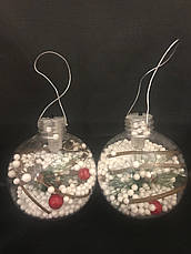 Декор новогодний.Шарики новогодние светящиеся.Елочные шары., фото 3