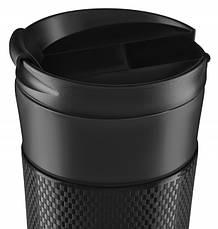 Термокружка Ardesto To Go 450 мл Нержавеющая сталь Черный (AR2645SMB), фото 3