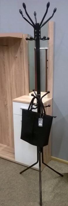 Стійка вішалка для одягу підлогова кактус