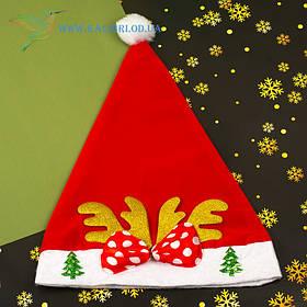 Новогодняя шапка Деда Мороза H-8