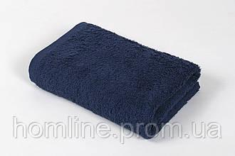 Полотенце Iris Home Отель Lacivert синее 40*70 440 г/м²