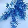 Искусственная ветка для новогоднего декора (голубая 85 см), фото 2