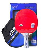 Набор для настольного тенниса/пинг-понга 729 Friendship № 2010: ракетка+чехол