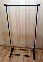 Стойка вешалка напольная для одежды металлическая