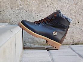 Ботинки подростковые Yuves ZTP  (натуральная кожа, зима)