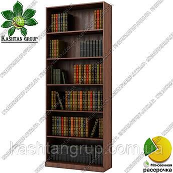 Книжный шкаф открытый Ш: 800 мм, Г: 285 мм, : 2030 мм