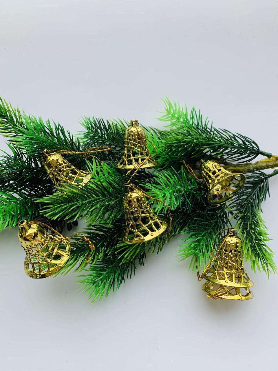 Колокольчики новогодние(10 шт)