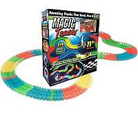 Детский светящийся гибкий трек Magic Tracks 220 деталей, фото 1