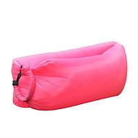 Надувной диван Ламзак Lamzac AIR CUSHION | Надувной лежак | Розовый