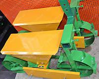Сеялка овощная двухрядная для мотоблока., фото 1