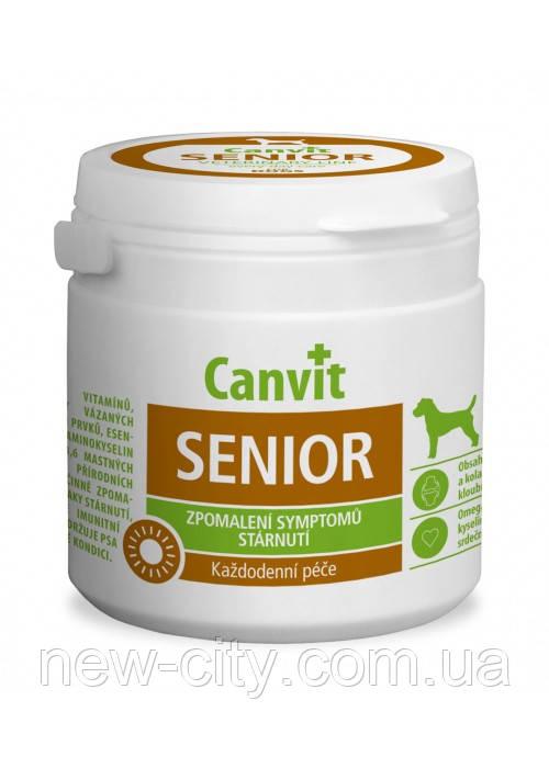 Сanvit Senior (Канвит Сеньор) кормовая добавка с витаминами и минералами для собак старше 7 лет 100таб