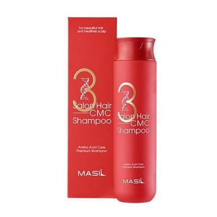Шампунь с аминокислотами Masil 3 Salon Hair CMC Shampoo, 300 мл, фото 2