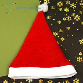 Новогодняя шапка Деда Мороза H-1