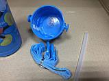 Термос детский питьевой с трубочкой Микки Маус 500 мл, фото 5