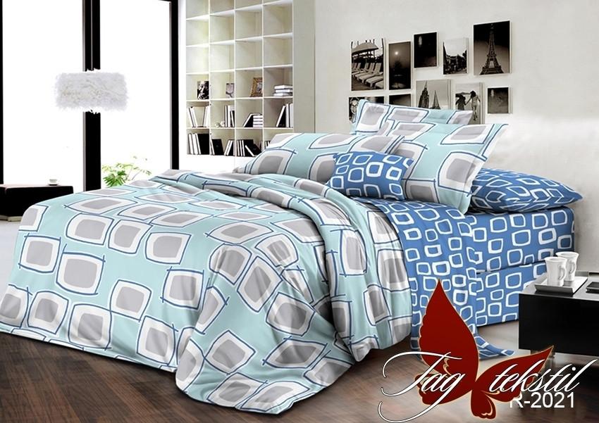 Двухспальный. Комплект постельного белья с компаньоном R2021