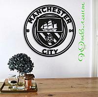 Картина из дерева  Manchester City