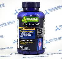 Хондропротектор Puritans Pride Glucosamine Chondroitin Double Strength 240 таб.