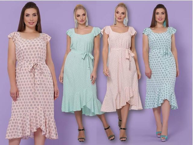 Літні сукні великих розмірів