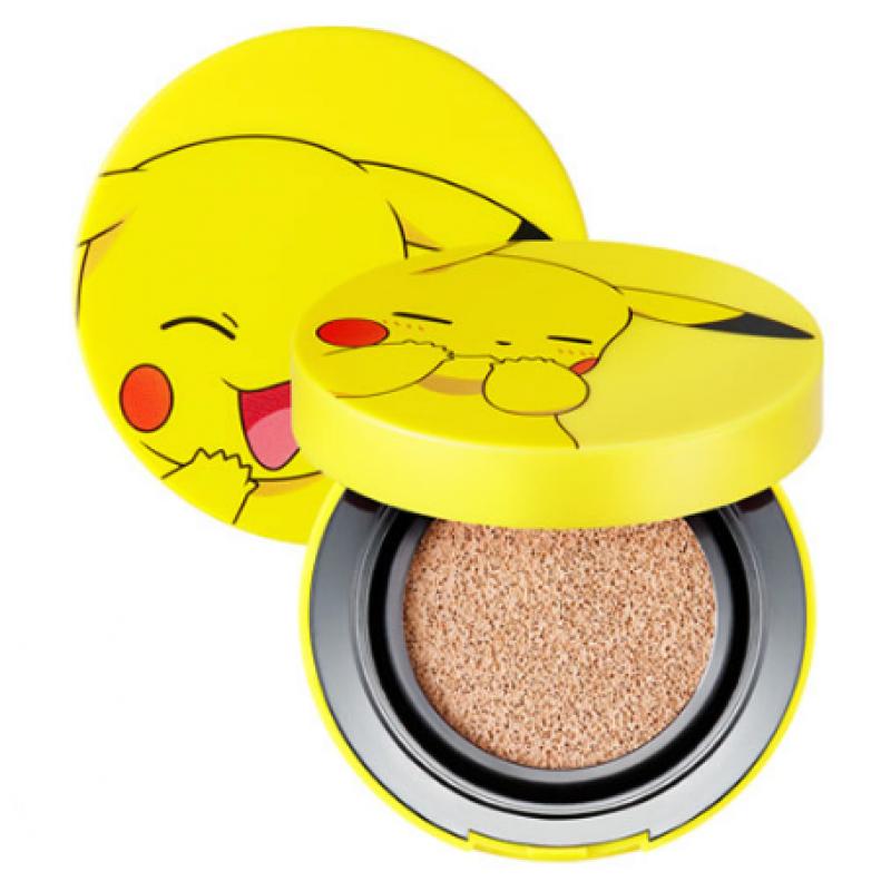 Кушон с экстрактом Алоэ Tony Moly Pikachu Mini Cover Cushion (pokemon edition) #2