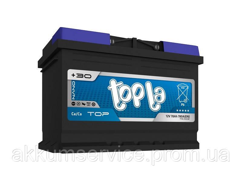 Аккумулятор автомобильный Topla Top Sealed 60AH R+ 540A