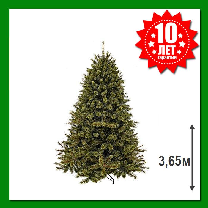 Искусственная сосна Triumph Tree Forest Frosted 3.65 м Зеленая