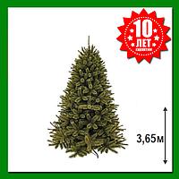 Искусственная сосна Triumph Tree Forest Frosted 3.65 м Зеленая, фото 1