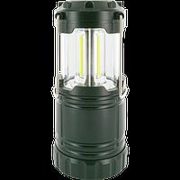 Фонарь для кемпинга Schwaiger, LED 120Lm, очень яркий, на батарейках, черный