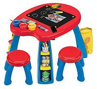 Crayola Парта со стульчиками Creativity Play Station Desk & Chair Set