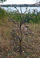 Дерево-10 с листьями, подставка для цветов на 20 чаш