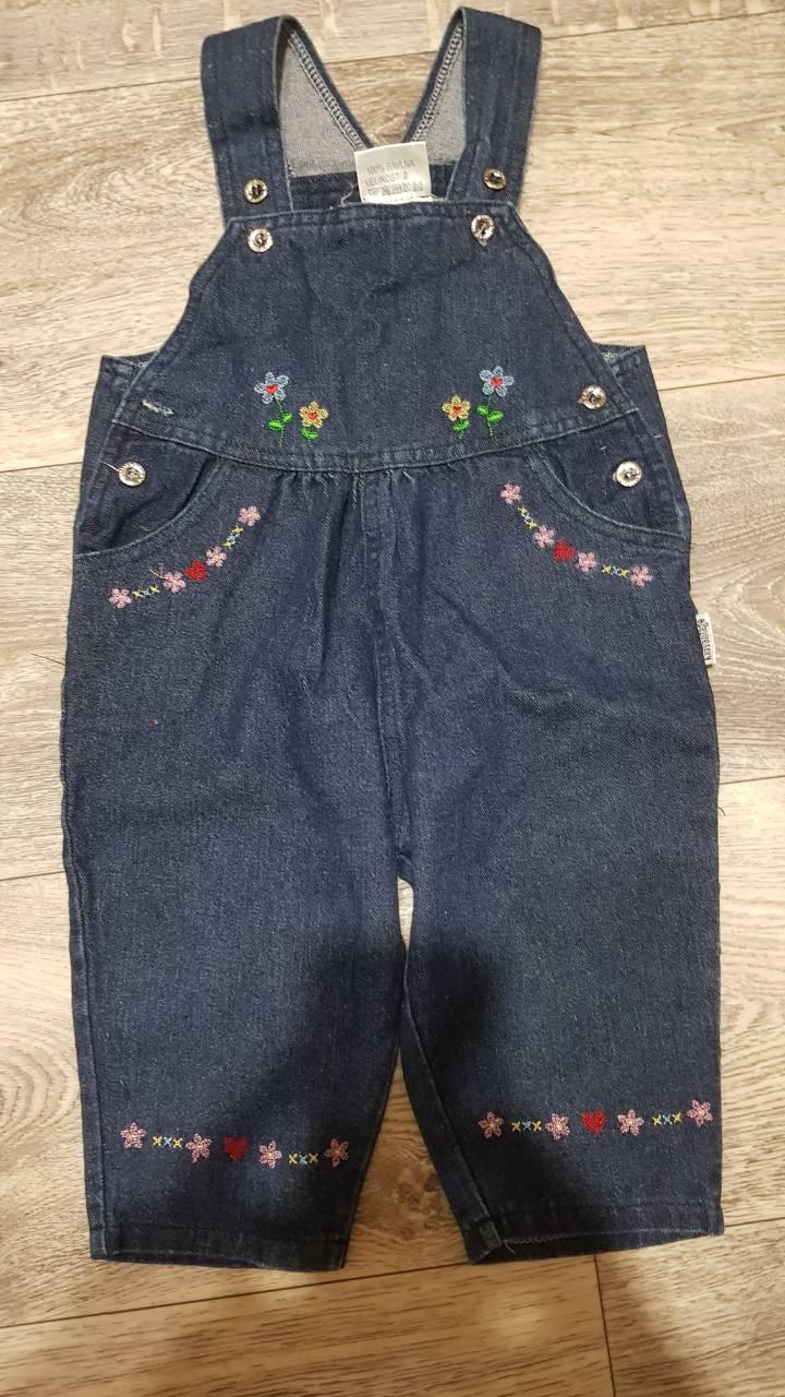 Комбинезон детский джинсовый 05