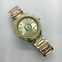Женские наручные часы Pandora (Пандора), золото с желтым циферблатом