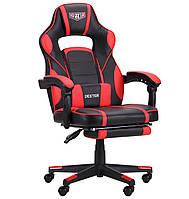 Геймерське крісло VR Racer Dexter Webster чорний/червоний, TM AMF
