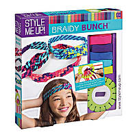 Набор для изготовления украшений для волос Style Me Up Braidy Bunch Wooky