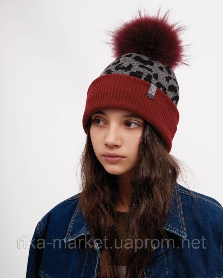 Зимняя шапка для девочки, ДембоХаус, Мишель, от 4 до 9 лет
