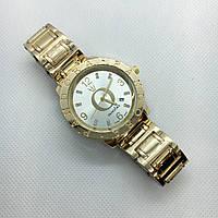 Женские наручные часы Pandora (Пандора), золото с белым циферблатом