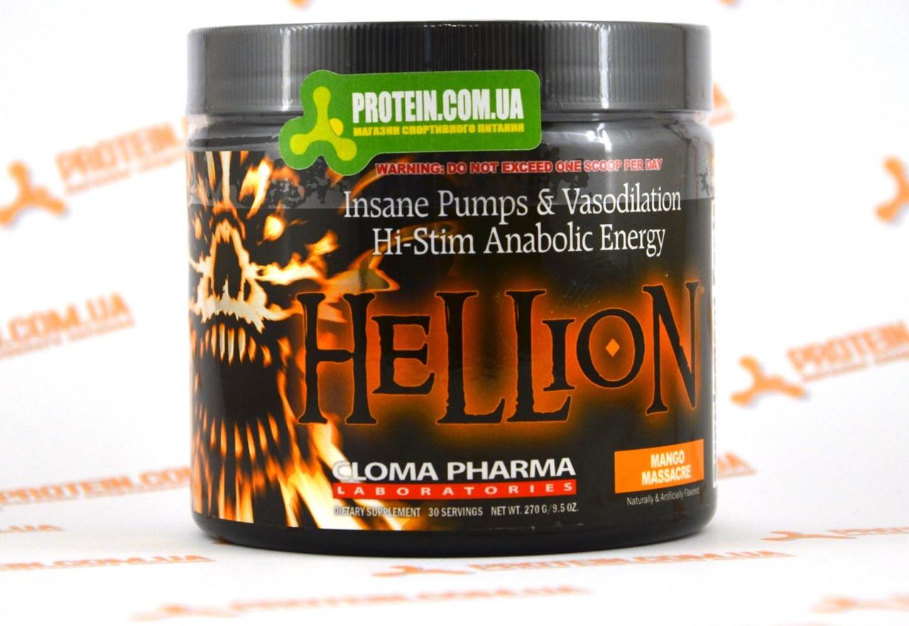 Предтренировочний комплекс CPh Cloma Pharma Hellion, 270 г Mango Massacre Манго