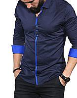 35-02-648 Рубашка с длинными рукавами в горошек