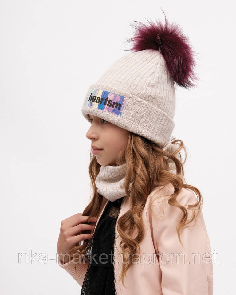 Зимний детский набор шапка и снуд , Дембохаус Нелл ,  от 2 до 9 лет