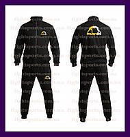 """Спортивный костюм MANTO BLACK NEW (без капюшона) Чоловічий спортивний костюм """"В стиле"""" черный Розница ОПТ"""