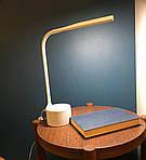 LED лампа настільна NOUS S7 White 8W 2700-6500K з Bluetooth колонкою, фото 10